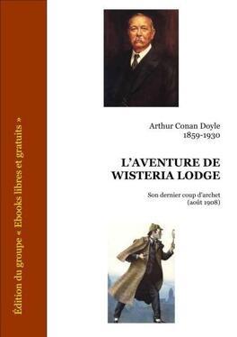 Couverture du livre : L'Aventure de Wisteria Lodge