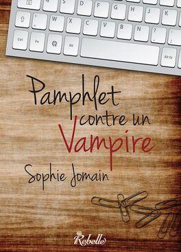 Couverture du livre : Pamphlet contre un vampire