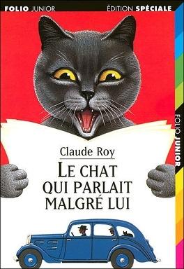 Couverture du livre : Le chat qui parlait malgré lui