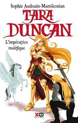 Couverture du livre : Tara Duncan, Tome 8 : L'Impératrice maléfique