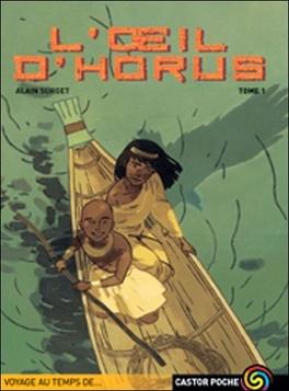 Couverture du livre : Trilogie de l'œil d'Horus, tome 1 : L'œil d'Horus