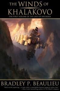 Couverture du livre : Lays of Anuskaya, Tome 1 : The Winds of Khalakovo