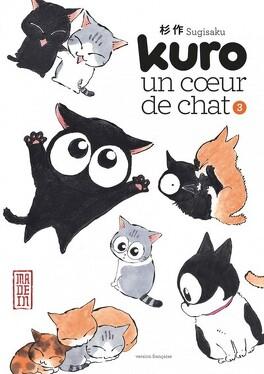 Couverture du livre : Kuro, un coeur de chat, Tome 3