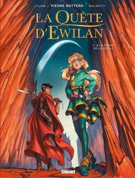 Couverture du livre : La Quête d'Ewilan, Tome 3 : La Passe de la Goule (BD)
