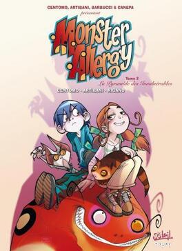 Couverture du livre : Monster Allergy, Tome 2: La pyramide des invulnérables