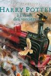 couverture Harry Potter, tome 1 : Harry Potter à l'école des sorciers (Illustré)