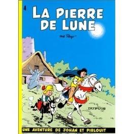 Couverture du livre : Johan et Pirlouit, Tome 4 : La Pierre de lune