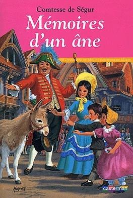 Couverture du livre : Mémoires d'un âne