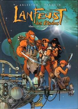 Couverture du livre : Lanfeust des Étoiles, Tome 1 : Un, Deux... Troy