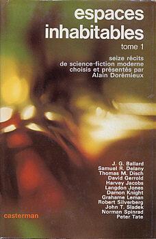 Couverture du livre : Espaces inhabitables, tome 1