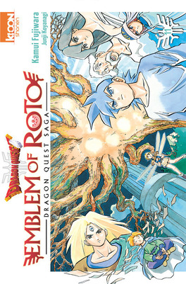 Couverture du livre : Dragon Quest – Emblem of Roto, tome 11.