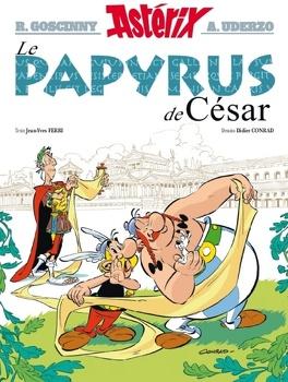 Couverture du livre : Astérix, Tome 36 : Le Papyrus de César