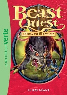 Couverture du livre : Beast Quest, tome 36 : Le rat géant