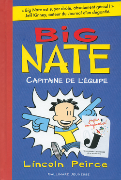 Couverture de Big Nate, tome 2 : Capitaine de l'équipe