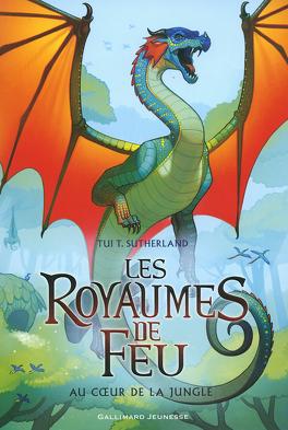 Couverture du livre : Les Royaumes de feu, Tome 3 : Au cœur de la jungle