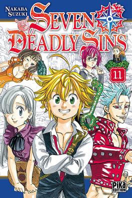 Couverture du livre : Seven Deadly Sins, Tome 11