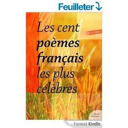 Les Cent Poemes Francais Les Plus Celebres Livre De Inconnu