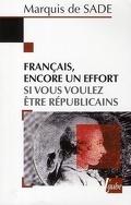 Français, encore un effort si vous voulez être républicains !