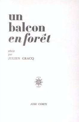 Couverture du livre : Un balcon en forêt