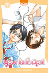 couverture Your lie in april, tome 7