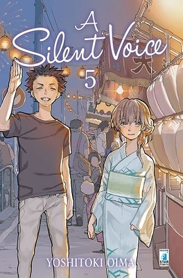 Couverture du livre : A Silent Voice, Tome 5