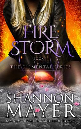 Couverture du livre : Elemental, Tome 3 : Firestorm