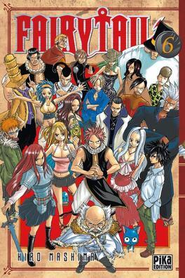 Couverture du livre : Fairy Tail, Tome 6