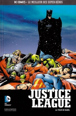 Couverture du livre : Justice League : La Tour de Babel