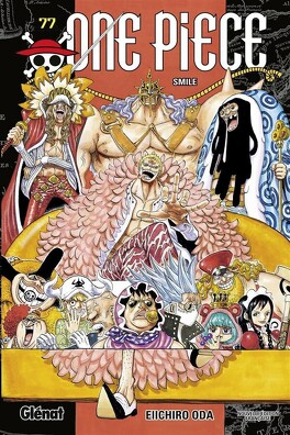 Couverture du livre : One Piece, Tome 77 : Smile