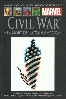Couverture du livre : Civil War : La Mort de Captain America