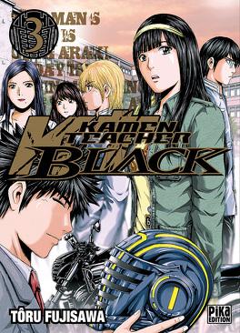 Couverture du livre : Kamen Teacher Black, tome 3