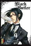 couverture Black Butler, Tome 4