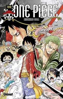 Couverture du livre : One Piece, Tome 69 : Sad