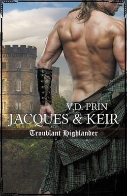 Couverture de Amoureux d'un highlander, Tome 1 : Jacques & Keir : Troublant highlander