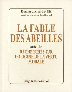 Image result for la fable des abeilles couverture
