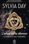 couverture La marque des ténèbres, Tome 1 : L'ange ou le démon