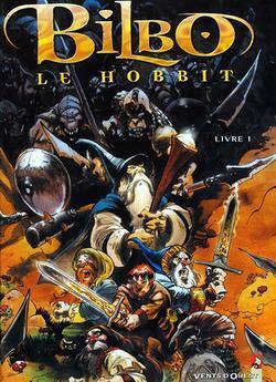 Couverture de Bilbo le Hobbit, tome 1