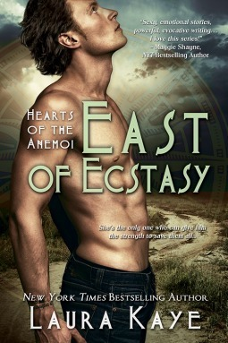 Couverture du livre : Hearts of the Anemoi, Tome 4 : East of Ecstasy