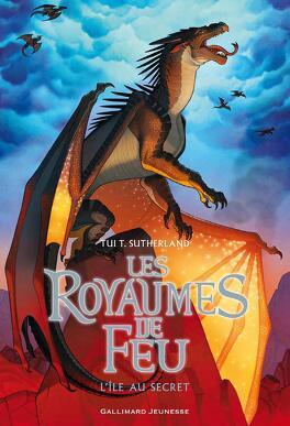 Couverture du livre : Les Royaumes de feu, Tome 4 : L'Île au secret