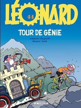 Couverture du livre : Léonard, tome 44 : Tour de génie