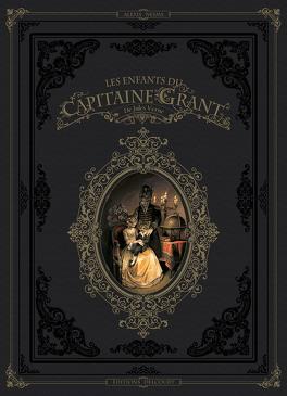 Couverture du livre : Les Enfants du capitaine Grant (BD)