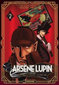 Couverture de Arsène Lupin, Tome 2 : Contre Herlock Sholmès : La lampe Juive