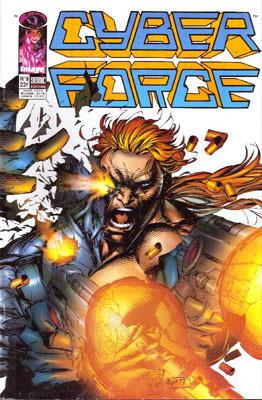 Couverture du livre : Cyberforce, Tome 8
