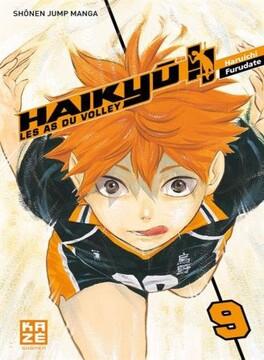 Couverture du livre : Haikyū !! Les As du volley, Tome 9