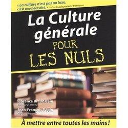 Couverture de La Culture générale pour les Nuls
