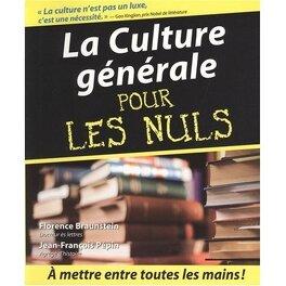 Couverture du livre : La Culture générale pour les Nuls