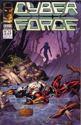 Couverture du livre : Cyberforce, Tome 10