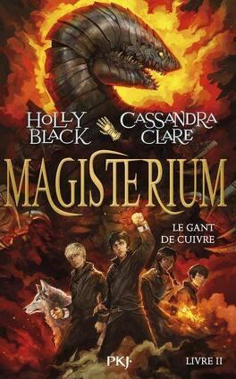 Couverture du livre : Magisterium, Tome 2 : Le Gant de cuivre