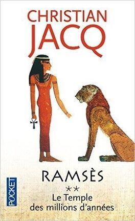 Couverture du livre : Ramsès, Tome 2 : Le Temple des millions d'années