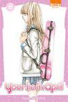 couverture Your lie in april, tome 8